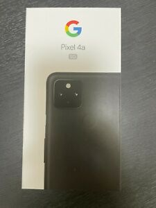 Google Pixel 4a 5G G025H - 128GB - Just Black (Unlocked) (Single SIM)