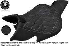 GRIP VINYL GREY DIAMOND ST CUSTOM FITS BENELLI 1130 TNT 04-15 FRONT SEAT COVER
