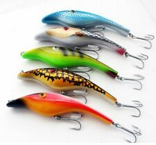 3D Swimbait 14.5cm 44g Fishing Lure Popper Pencil Topwater Diving Minnow Tuna GT