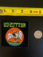 Led Zeppelin orannge embroidered Patch Robert Plant Jimmy Page