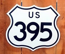 """Route 395 Interstate Highway Sign - 15""""x17.3"""""""