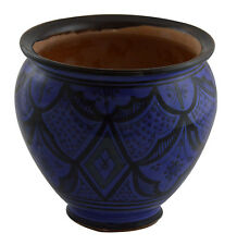 Moroccan Mediterranean Flower Pot Ceramic Terracotta Planter Plant Mexican