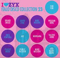 CD ZYX Italo Disco Collection 23 von Various Artists  3CDs