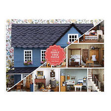 Vintage Dollhouse 2-Sided 500 Piece Puzzle by Galison Books (Hardback, 2017)