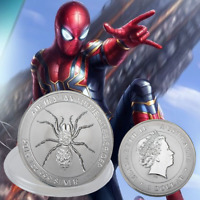 WR 2015 Australian Funnel Web Spider 1oz Silver Bullion Coin Collectibles Gifts