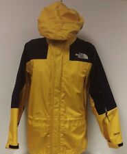 VTG North Face Gore-Tex Mountain Parka Jacket Yellow Coat Supreme Hooded Zip Up