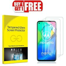 For Motorola G8 Series Tempered Glass Screen Protector Case Friendly