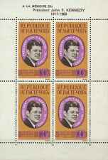 Timbres Personnages Kennedy Haute Volta BF2 * lot 4003