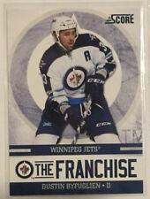 "Dustin Byfuglien 2011-12 Score Insert ""The Franchise"" #2 - Winnipeg Jets"