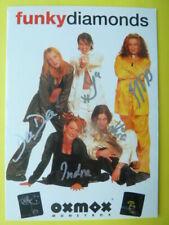 -aa- Funky Diamonds (Band), Autogrammkarte (Musik)