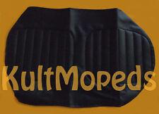 Sitzbankbezug Bezug MZ ETZ 250 Sitz strukturiert schwarz Decke gesteppt mit Logo
