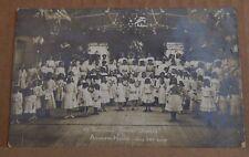Postcard Adelphi House Convent School Salford Fthr Sheanans Silver Jubilee 1908