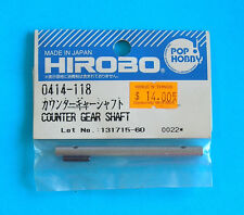 HIROBO®  SPARE PARTS ~ Counter Gear Shaft ~ 0414-118 ~ NEW IN ORIGINAL PACKAGING