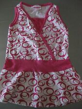 Kleid Sommerkleid Hängekleid Gr. 110 dopodopo Pink/weiß