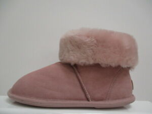 Just Sheepskin Albery Ladies Bootie Slippers UK 5-6 EUR 38/39 REF BB598*