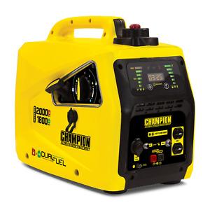 100402R- 1600/2000w Champion Power Equipment Dual Fuel Inverter- Refurbished
