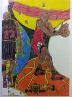 1999 Upper Deck MVP Draw Your Own Card Winner Michael Jordan #W16, Chicago Bulls