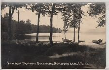 RPPC - Newfound Lake, NH - Canoes at Brookside Bungalows - 1920s