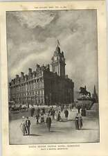 1903 North British Station Hotel Exterior Edinburgh Scott Beattie