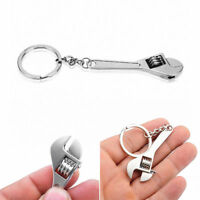 Mini Metal Adjustable Creative Tool Wrench Spanner Key Chain Ring Keychain Gift