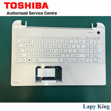 Brand New Toshiba Satellite L50 White Keyboard w/ Top Cover Genuine A000296410