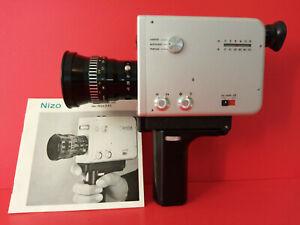 Vintage Design // Braun Nizo S 8L. Super 8 Movie Camera & Original case.