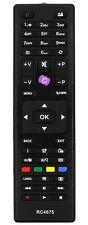 Ersatz Fernbedienung für Finlux Dual Kendo Hitachi TV RC4875   RC-4875