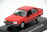 Altaya 1:43 IXO Renault 18 GTX II 1987 Diecast Toys Car Models Collection