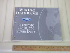 2009 / 2010 Ford F-650 750 Super Duty Electrical Vacuum Service Manual