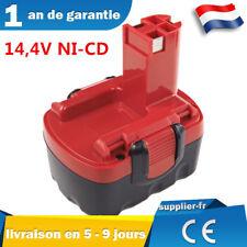 14,4V Batterie NI-CD pour Bosch 2607335263, 2607335264, 2607335275, 2607335276