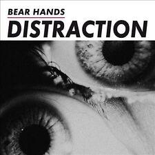 Distraction [Digipak] by Bear Hands (CD, Feb-2014, Cantora Records)