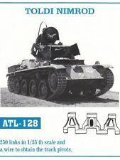 1/35 ATL128 FreeShip FRIULMODEL METAL TRACK for  TANK  TOLDI  for HOBBY BOSS