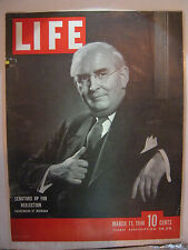 LIFE MAGAZINE MARCH 11, 1946 SENATORS UP FOR REELECTION