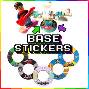 Lego Dimensions Base Stickers
