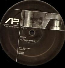 "EXIUM self consume ep 12"" VG AAR 027 techno netherlands 2007"