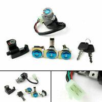 Ignition Switch Fuel Gas Cap Cover Key Lock Set Fits Honda CN250 Helix 1986-07/A