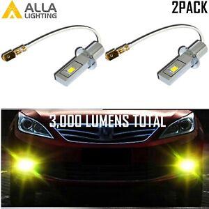 LED Gold Yellow H3 Cornering Light Bulb|Daytime Running Light Bulb|Fog Light