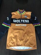 Santini - Molteni Long Sleeve Jersey. Eddy Merckx. Large.