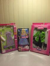 Lot Of 2 Barbie Fashion Avenue Clothing & Flowered Dress- 1 Dress 2009 BNIB