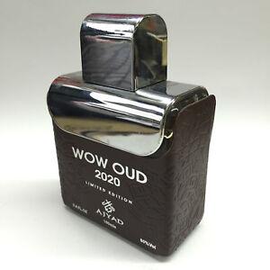 New Wow Oud 2020 by AjyadSpicy Smoky  Fragrance Attar EDP Spray Perfume 100ml