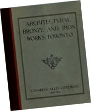 Allis Chalmers 1913  Architectural Bronze + Iron CATALOG buildings gates doors