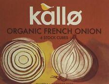 Kallo Bio Organic français oignon 6 Stock Cubes - 66 g