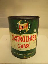 7 lb Castrolease grease tin tin. Motor oil. Esso.shell.BP.