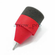 3pcs Sponge Foam Archery Arrowhead Game CS Practice Broadhead Tips Red