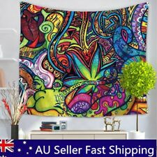 150x130cm Colorful Flowers Indian Hippie Psychedelic Tapestry Wall Hanging Cover