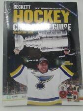 2020 BECKETT HOCKEY CARD ANNUAL PRICE GUIDE 29TH EDITION JORDAN BINNINGTON COVER