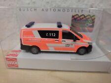 """Busch 1:87 - MB Vito (W447) """"Feuerwehr Stuttgart Notarzt NEF 1 5/82-1 S-FW 2823"""""""