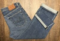 AG Jeans Adriano Goldschmied The Protege Mens Sz 32x28 Straight Leg Blue Bottoms
