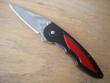 BUCK 292 IMPULSE RUSH KNIFE ASSISTED OPENING RED ALUMINUM INSERTS 290 291 USA