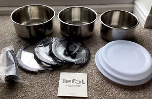 Tefal ingenio induction 10 Piece Stainless Steel pan set